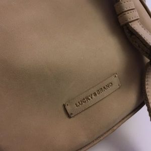 Lucky Brand Leather Pocket Book Belt Bag